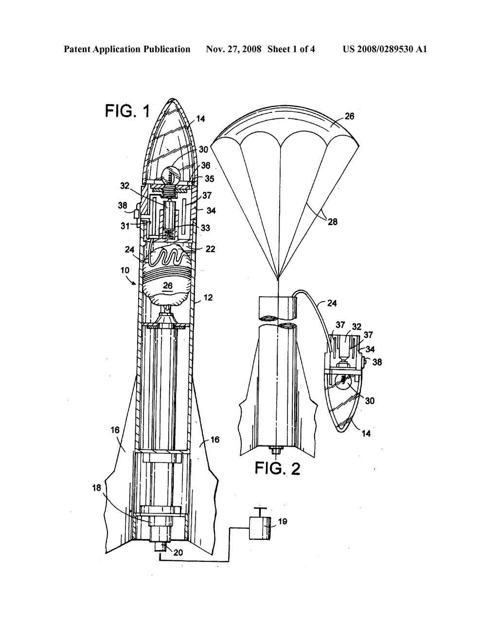 hight resolution of airborne device such as model rocket with light and sound for observing and retrieving diagram schematic and image 02