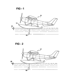 detachable hydrofoil trim tabs for use with seaplane floats for assisting with lower speed on plane condition and stability during step turning chine walk  [ 1024 x 1320 Pixel ]