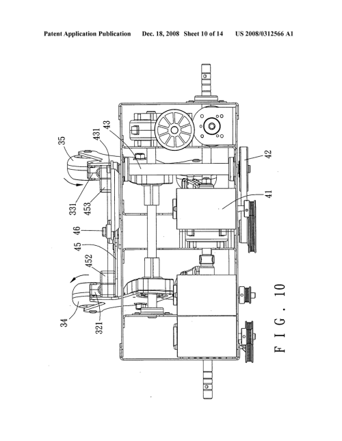 small resolution of tapping mechanism for use in a massage device of a massage machine diagram schematic and image 11