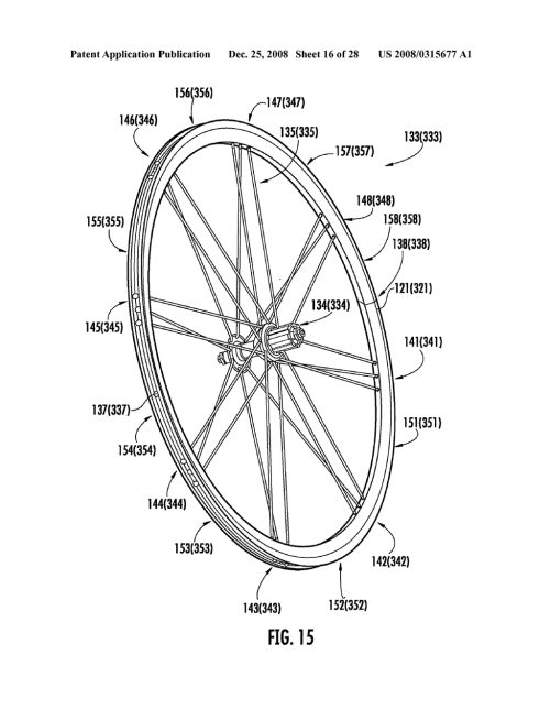 small resolution of rim and bicycle wheel with wings with compensated flaring diagram pocket bike engine diagram bike wheel diagram