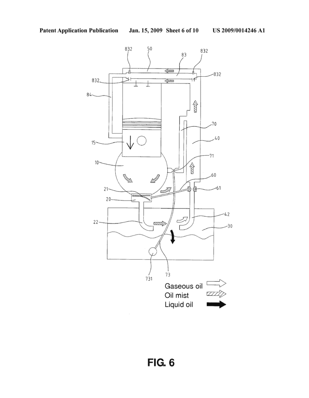 medium resolution of lubrication system for four stroke engine diagram schematic and image 07