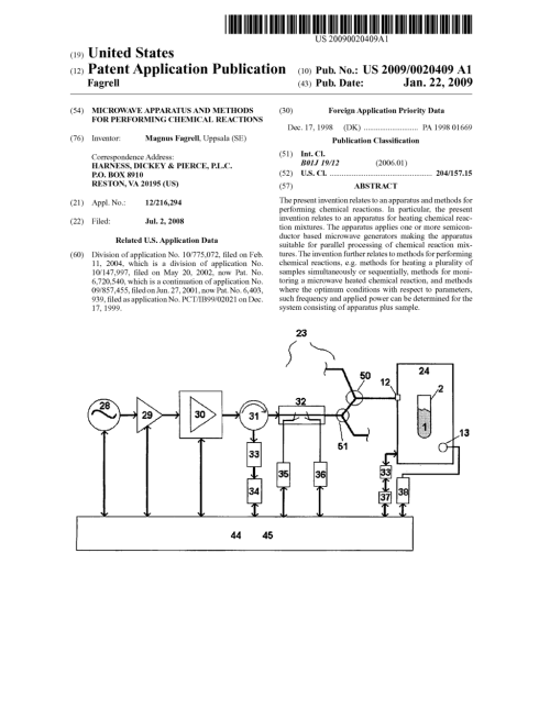 small resolution of microwave apparatus and methods for performing chemical reactions diagram schematic and image 01