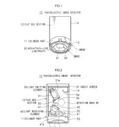 smoke detector schematic [ 1024 x 1320 Pixel ]