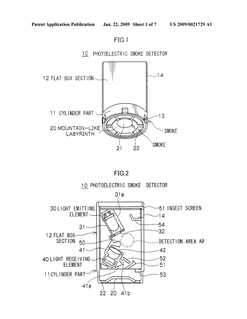 medium resolution of smoke detector schematic