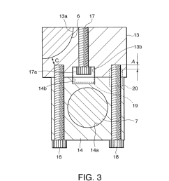 bearing structure for variable compression ratio internal combustion engine diagram schematic and image 04 [ 1024 x 1320 Pixel ]