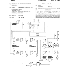 Gold Detector Circuit Diagram Manual Ups Wiring With Changeover Switch System Pulse Induction Metal Schematic Best Site
