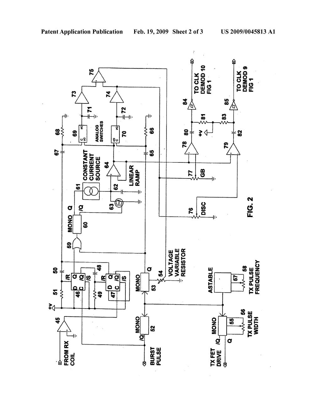 gold detector circuit diagram electrolux double door refrigerator wiring pulse induction metal schematic best site