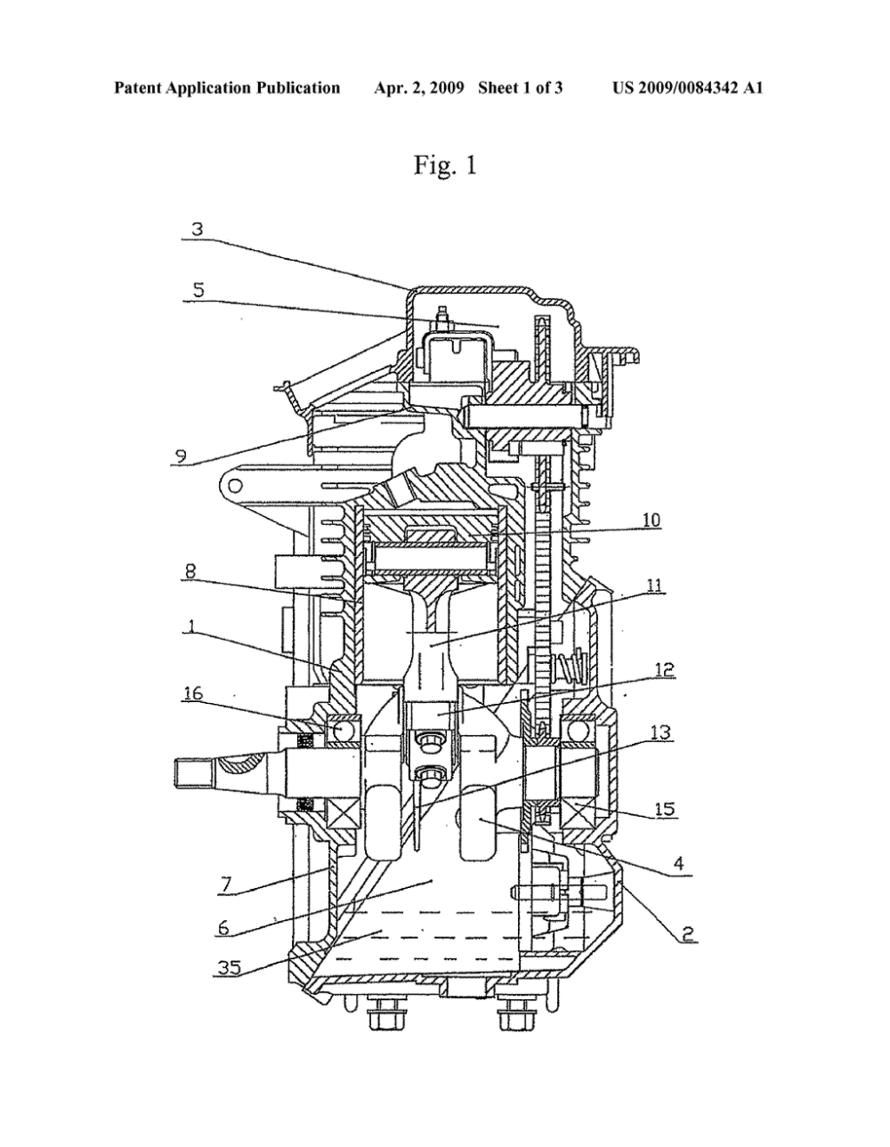 medium resolution of crankcase scavenging mechanism for a four stroke engine diagram schematic and image 02