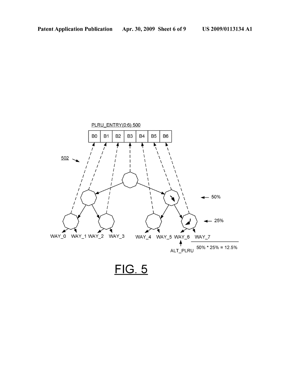 hight resolution of method and cache control circuit for replacing cache lines using alternate plru algorithm and victim cache coherency state diagram schematic