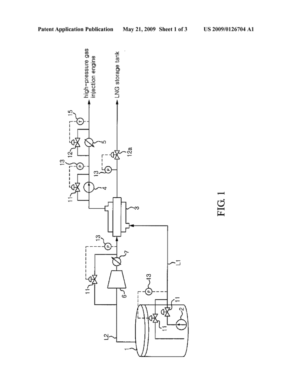 medium resolution of fuel gas supply system and method of an lng carrier diagram schematic and image 02