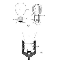 light bulb with light emitting elements for use in conventional incandescent light bulb sockets diagram schematic and image 02 [ 1024 x 1320 Pixel ]
