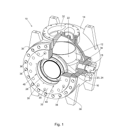 ball valve housing seat and method of securing the same to a ball valve diagram schematic and image 02 [ 1024 x 1320 Pixel ]