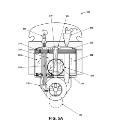 internal combustion engine twin power unit having an oscillating cylinder diagram schematic and image 06 [ 1024 x 1320 Pixel ]
