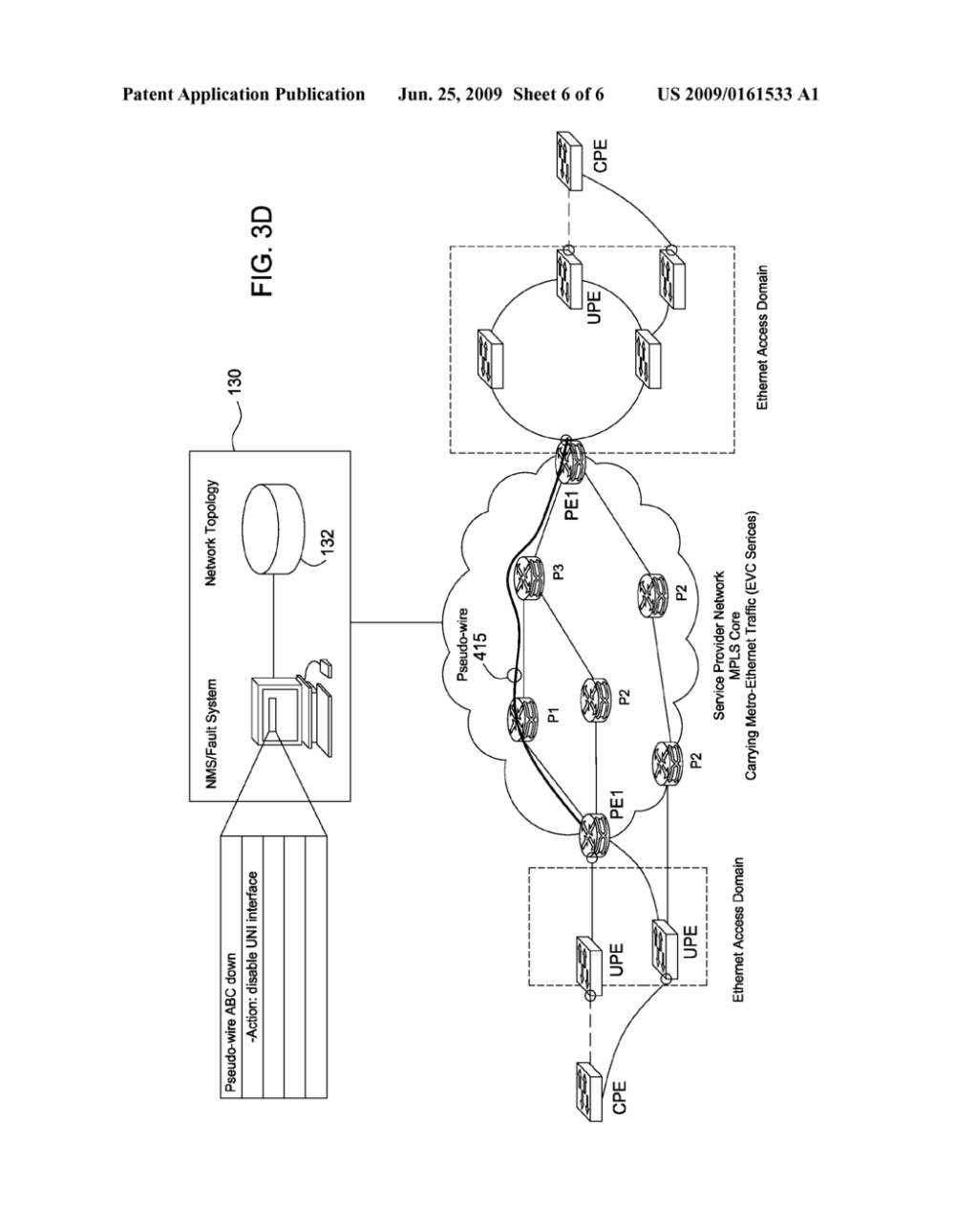 medium resolution of active fault management for metro ethernet service over mpls network diagram schematic and image 07