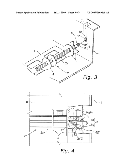 small resolution of rotary mounting structure for toner cartridge diagram schematic and image 04