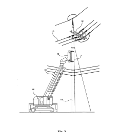 method for replacing concrete utility pole without interrupting power supply by adopting pole clamp and pole crusher diagram schematic and image 03 [ 1024 x 1320 Pixel ]