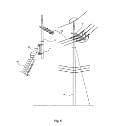 method for replacing concrete utility pole without interrupting power supply by adopting pole clamp and pole crusher diagram schematic and image 08 [ 1024 x 1320 Pixel ]