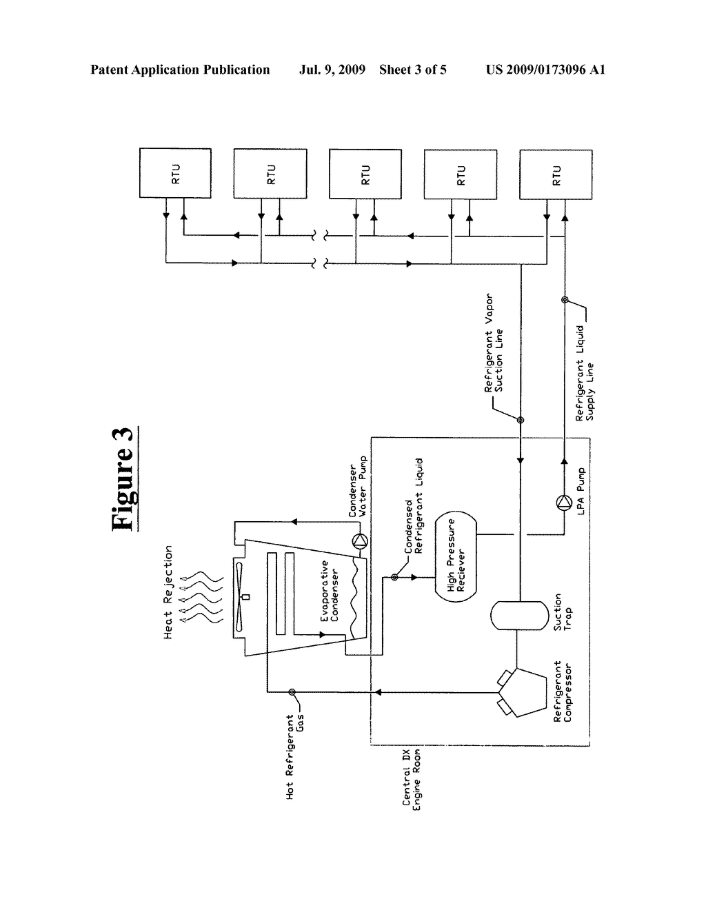 hight resolution of methodology for converting existing packaged rooftop air conditioning units to be served from a centralized water cooled refrigeration and or heat pump