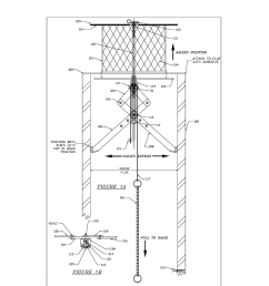 retractable hideaway chimney damper cap diagram schematic and image 02 [ 1024 x 1320 Pixel ]