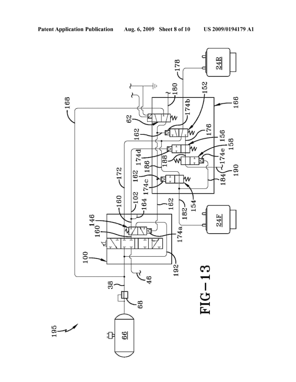 medium resolution of multi stage height control valve including position sensitive pilot signal and pressure boost for vehicle air springs diagram schematic and image 09