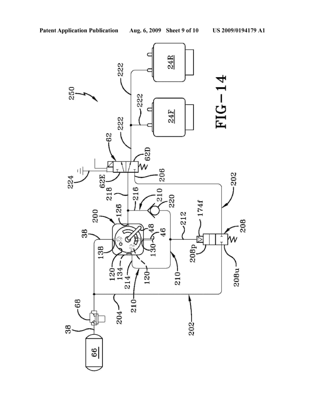 medium resolution of multi stage height control valve including position sensitive pilot signal and pressure boost for vehicle air springs diagram schematic and image 10
