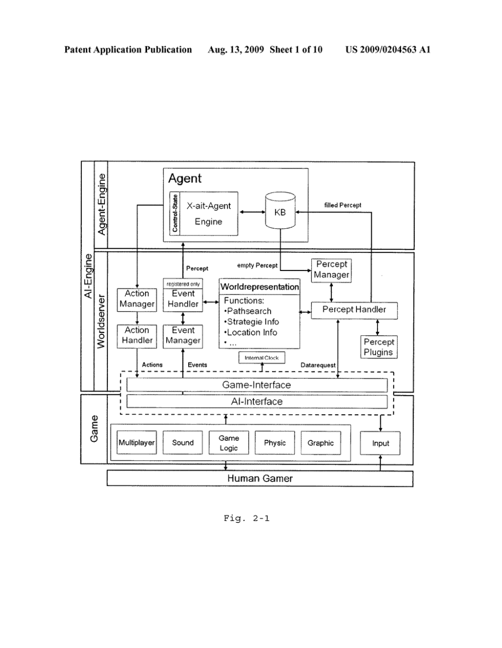 medium resolution of generic ai architecture for a multi agent system diagram schematic and image 02
