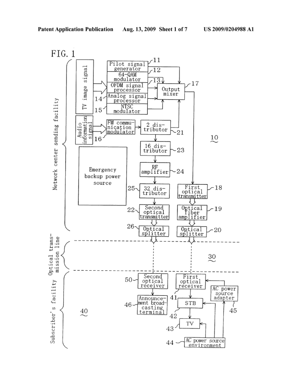 medium resolution of announcement broadcasting system announcement broadcasting optical receiver used for the announcement broadcasting system cable television broadcasting