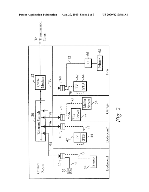 small resolution of method of and apparatus for providing isochronous services over ethernet network diagram ethernet hub schematic