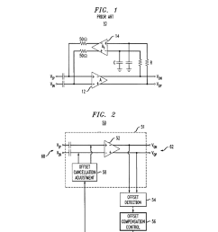 analog amplifier having dc offset cancellation circuit and method of circuit diagram to offset large dc offset amplifiercircuit [ 1024 x 1320 Pixel ]