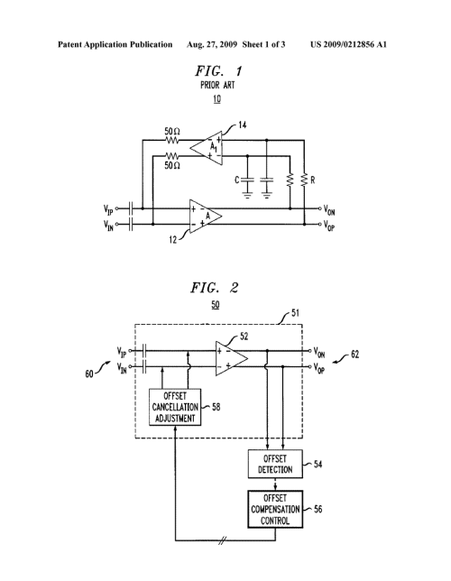 small resolution of analog amplifier having dc offset cancellation circuit and method of circuit diagram to offset large dc offset amplifiercircuit