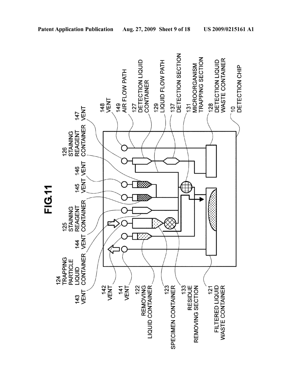 hight resolution of microorganism testing device and chip for testing microorganisms diagram schematic and image 10