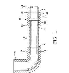 adhesively secured fluid tight pipe joint of pvc cpvc pipe and fitting diagram schematic and image 02 [ 1024 x 1320 Pixel ]
