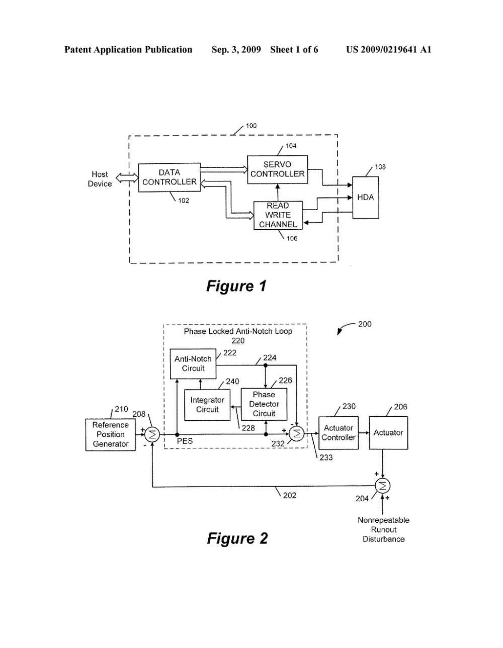 medium resolution of phase locked notch filter in a servo control loop diagram schematic and image 02