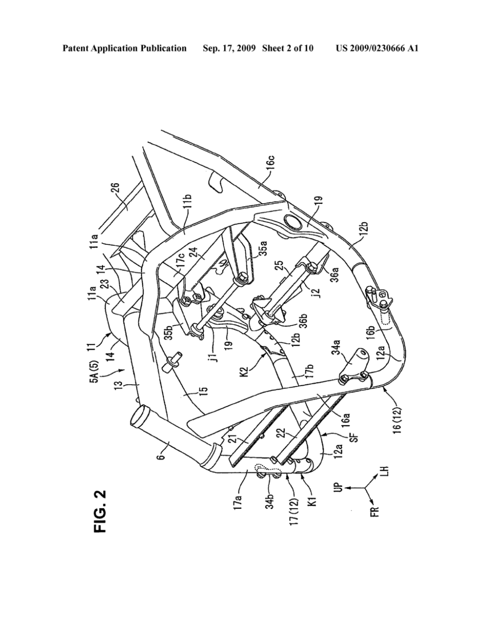 medium resolution of vehicle frame joint for a saddle type vehicle and vehicle frame incorporating same diagram schematic and image 03