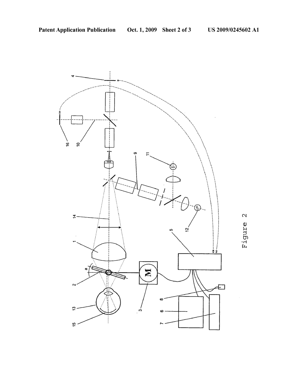 hight resolution of device and method for recording and documenting three dimensional images of the ocular fundus diagram schematic and image 03