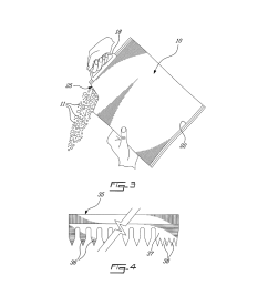 heavy duty plastic bag with easy tear corner spout portion diagram schematic and image 03 [ 1024 x 1320 Pixel ]