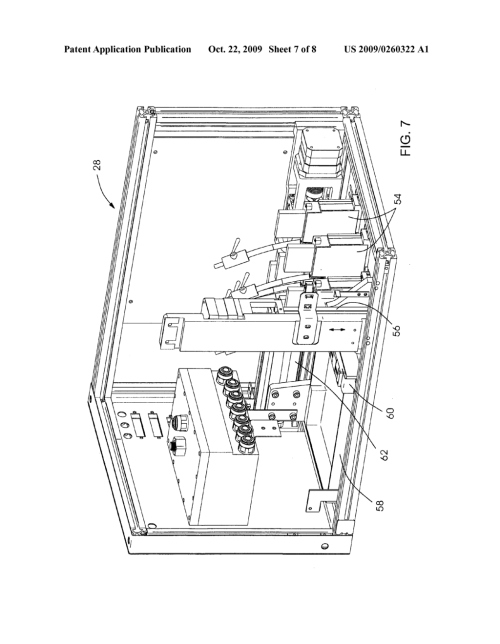 small resolution of packaging machine for goods in blister shell moldings to be sealed with a blister film diagram schematic and image 08