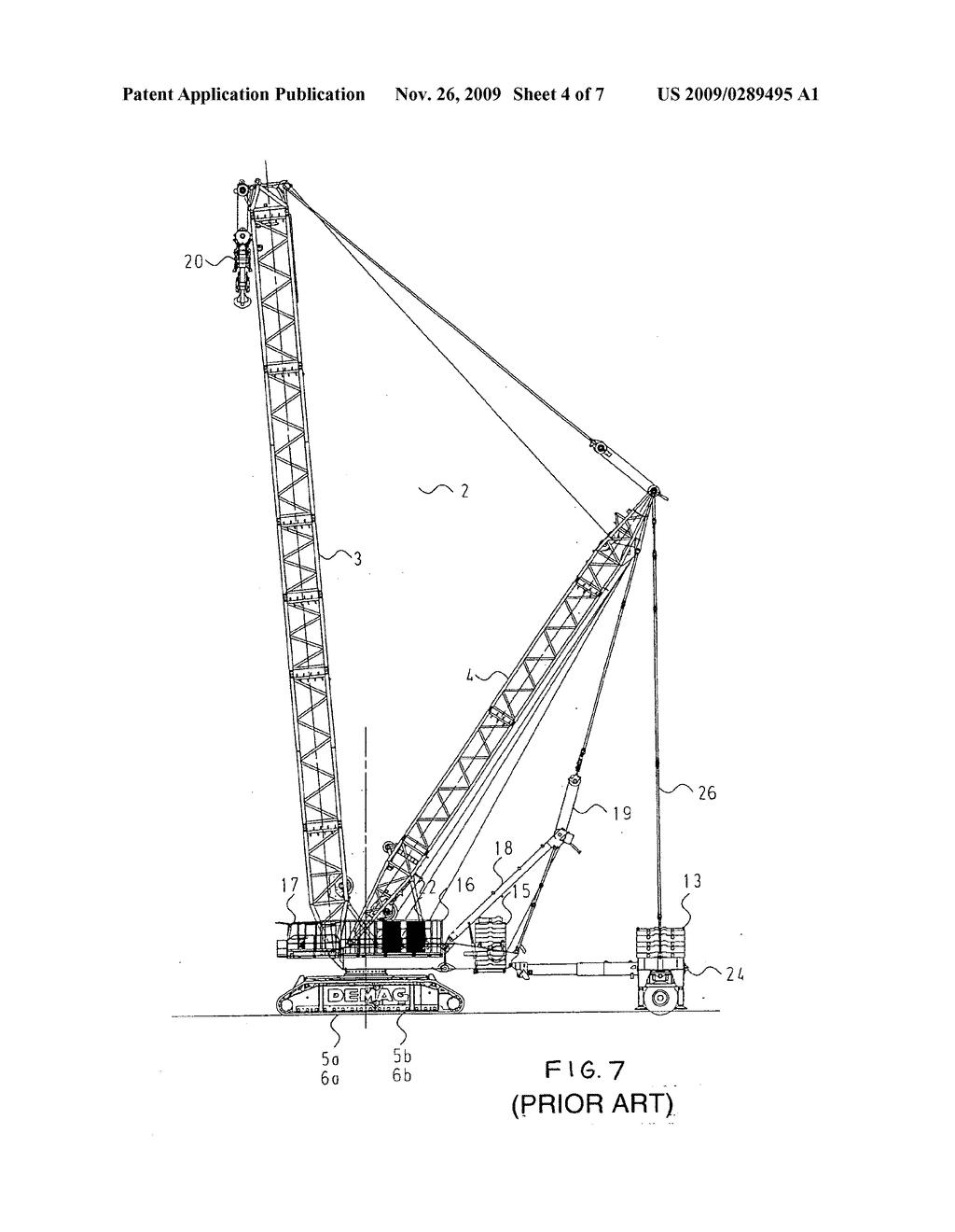 hight resolution of mobile crane diagram
