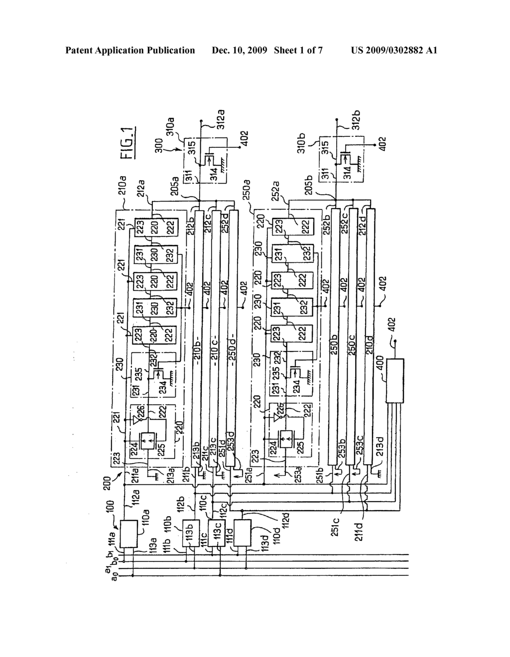 hight resolution of device forming a logic gate for minimizing the differences in electrical of electro magnetic behavior in an intergrated circuit manipulating a secret