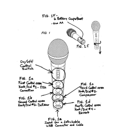 wireless vocal microphone with built in auto chromatic pitch correction diagram schematic and image 02 [ 1024 x 1320 Pixel ]