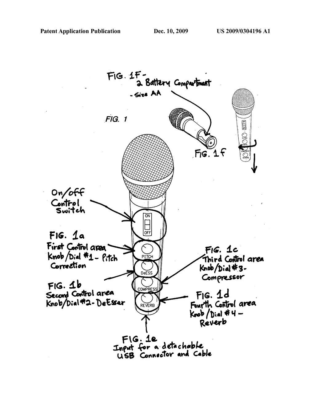 hight resolution of wireless vocal microphone with built in auto chromatic pitch correction diagram schematic and image 02