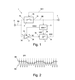 demodulation circuit for ask coded or amplitude modulated signals as wells as nfc and rfid devices comprising the same diagram schematic and image 02 [ 1024 x 1320 Pixel ]