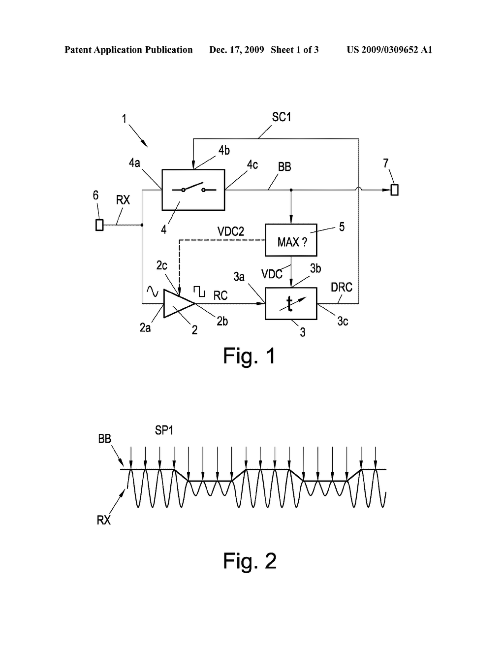 hight resolution of demodulation circuit for ask coded or amplitude modulated signals as wells as nfc and rfid devices comprising the same diagram schematic and image 02