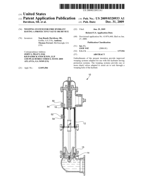 small resolution of weeping system for fire hydrant having a protective valve or device diagram schematic and image 01