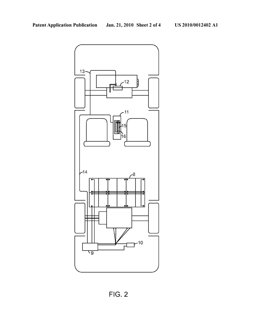 hight resolution of rechargeable automobile electric power system and simple switching mechanism between gas engine and electric motor diagram schematic and image 03