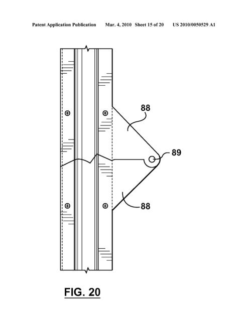 small resolution of garage door apparatus with folding door panels diagram schematic and image 16