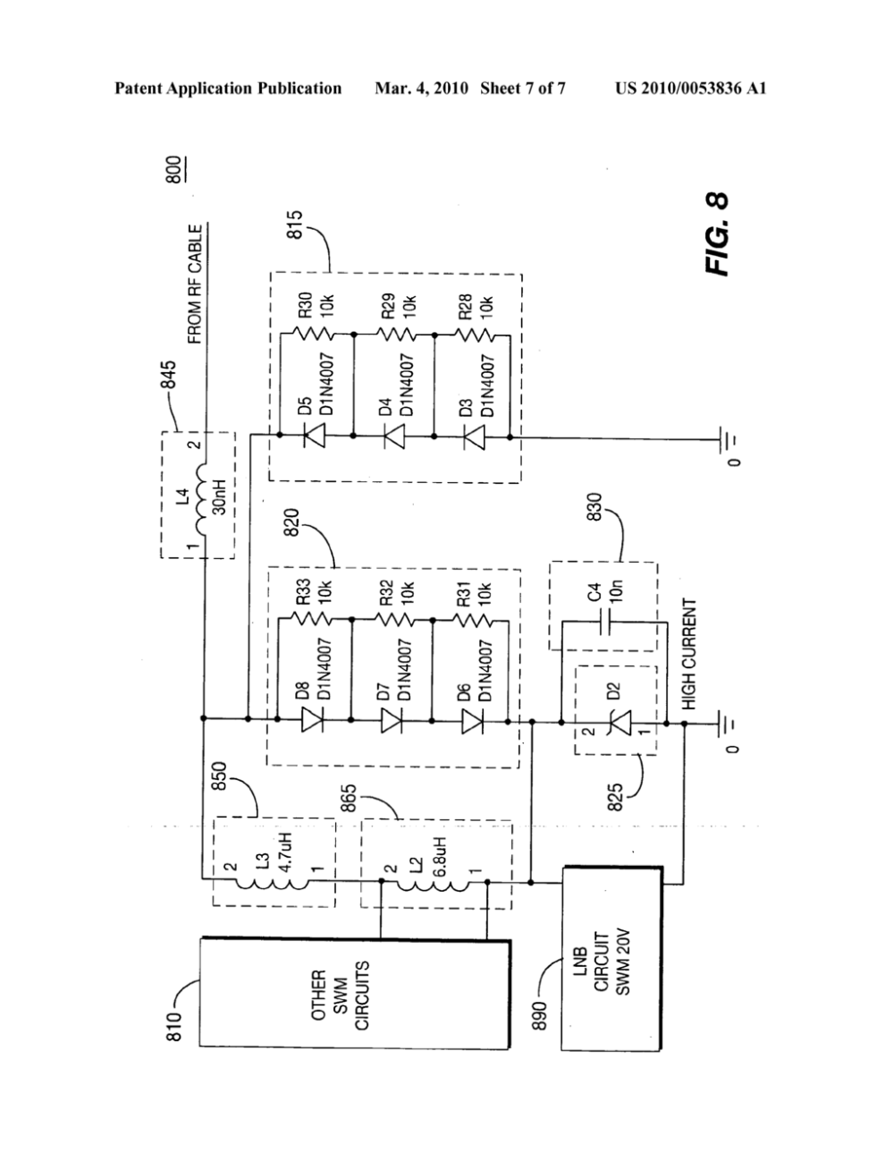 medium resolution of two stage surge protection for single wire multi switch transceiver diagram schematic and image 08