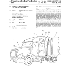 foldable cab extender for a tractor trailer truck diagram foldable cab extender for a tractor trailer [ 1024 x 1320 Pixel ]