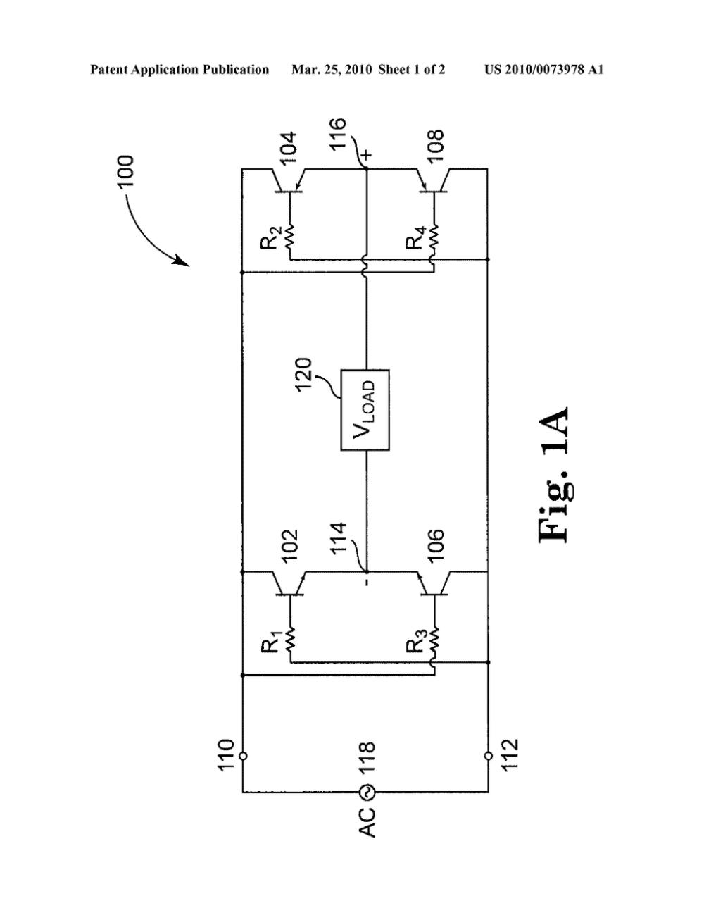 medium resolution of bridge rectifier circuit with bipolar transistors diagram schematic and image 02