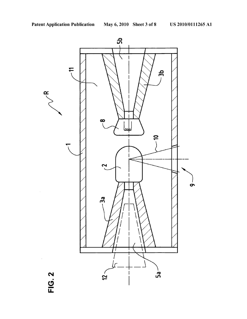 hight resolution of x ray tube with an anode isolation element for liquid cooling and a receptacle for a high voltage plug diagram schematic and image 04